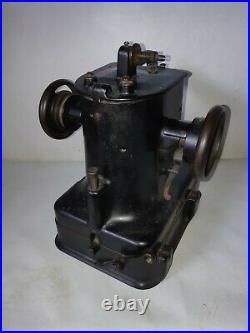 1914 Singer 46 K 33 fur glove and leather Industrial sewing machine head