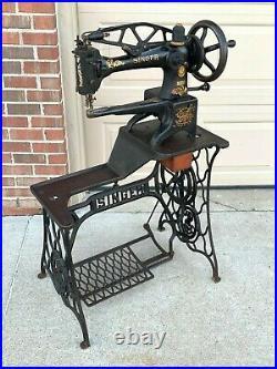 1925 / 1926 Singer 29K51 Leather Cobbler Vintage Sewing Machine Shoe Boot