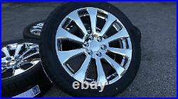 22 Chrome Chevy Silverado High Country Wheels Rims Tires Tahoe 2020 2019 2018