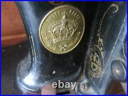 Antique 1889 Model B High Arm Pfaff sewing machine Serial. No. 103372