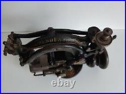 Antique Heinrich Grossman Dresdensia straw hat sewing machine