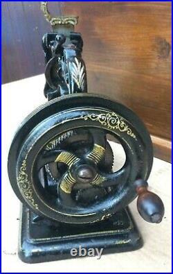 Antique James Galloway Weir Chainstitch Hand crank Sewing Machine