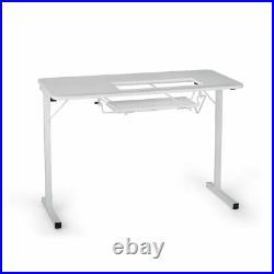 Arrow Model Gidget White Sewing Machine Table Customer New