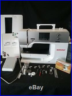 BERNINA 750QE (Quilters Edition) Sewing Machine with attachments and BSR