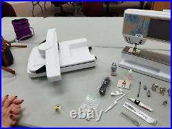 BERNINA 880 Sterling Edition Sewing & Embroidery Machine