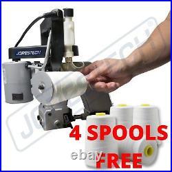 Bag Closer Closing Machine Sewing Machine Stitcher JORESTECH SWAA-26B + 4 rolls
