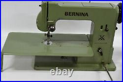 Bernina 121 Knee Operated Vintage Sewing Machine RARE 1950's/60's with Acces