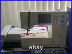 Bernina Artista 180 Computer Sewing Embroidery Machine with accessories