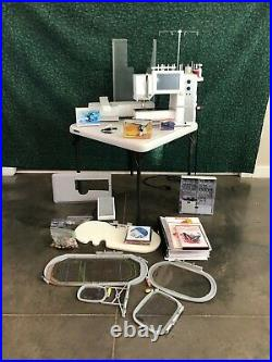 Bernina Artista 730E Sewing and Embroidery Machine BSR and Digitizing software