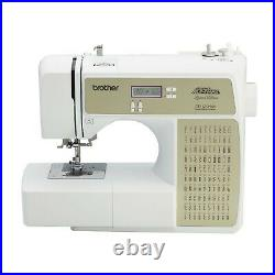 Brother Computerize 100-Stitch Project Runway Sewing Machine CE1125PRW