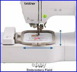 Brother Computerized Embroidery Sewing Machine with LCD Screen PE535 BRAND NEW