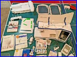 Brother Dream Machine II Sewing & Embroidery Machine Excellent Condition XV8550D