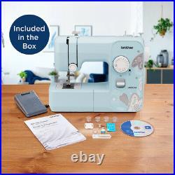 Brother LX3817A 17-Stitch Full-size Sewing Machine Aqua Free-motion Sewing New