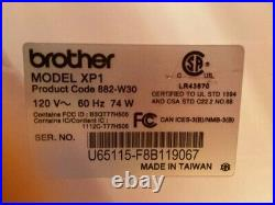 Brother Luminaire XP1 Sewing Embroidery Machine With Premium Pack 1 and 3 Upgrades