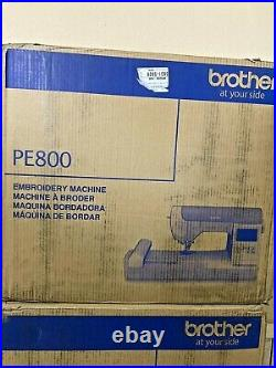 Brother PE800 5 x 7 Embroidery Machine BRAND NEW SEALED