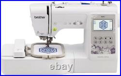Brother SE600 Computerized LCD Sewing & Embroidery Machine