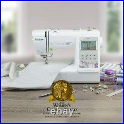 Brother SE600 Computerized Sewing & Embroidery Machine