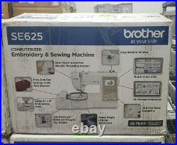 Brother SE625 Computerized Sewing & Embroidery Machine
