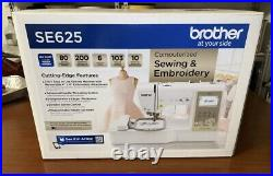 Brother SE625 Computerized Sewing & Embroidery Machine New Sealed Ships Today