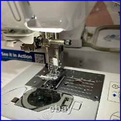 Brother SE625 Computerized Sewing and Embroidery Machine LCD Screen with62 Spools