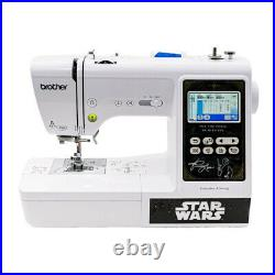 Brother Star Wars Sewing and Embroidery Machine with Sewing Clips Bundle