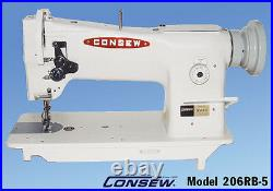 Consew 206RB-5 Upholstery Sewing Machine Brand New