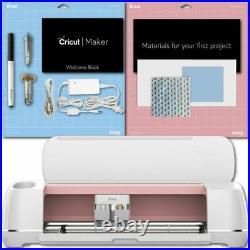 Cricut Maker Rose Machine Cutting Fabric Sewing Vinyl USED