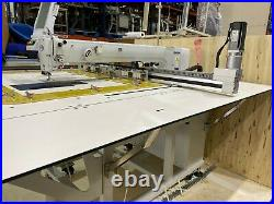 DEMATRON CNC PROGRAMMABLE SEWING MACHINE DM-1075 Upholstery