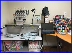 Embroidery Machine MELCO EMT 10T F1 BUY ME. I SEW GREAT