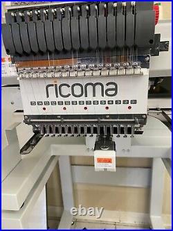 Embroidery machine 15 needle, 1 Head Compact Embroidery machine