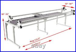 Grace Q'nique Long Arm Quilting Machine with Continuum King Frame New