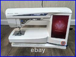 Husqvarna Viking Designer Diamond Sewing Machine with Embroidery Unit and EXTRAS
