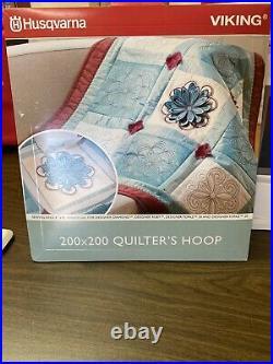 Husqvarna Viking Designer Ruby Embroidery Machine
