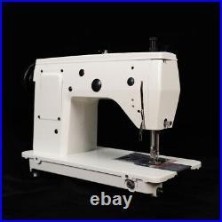 INDUSTRIAL STRENGTH Sewing Machine Head UPHOLSTERY & Denim cotton +WALKING FOOT