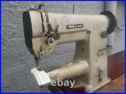 Industrial Sewing Machine Model Nakajima 321, cylinder, Leather