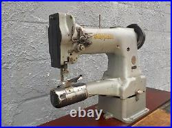 Industrial Sewing Machine Model Singer 154W101 double ndl, cylinder, Leather