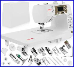Janome 3160QDC Computerized Sewing Machine withHard Cover + Extension Table + Kit