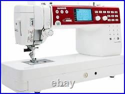 Janome 6650 Memory Craft Electronic Quilting Sewing Machine Accessories Video