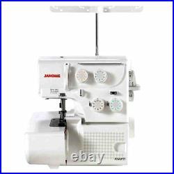 Janome 8002D Overlock Serger Sewing Machine with Bonus Bundle