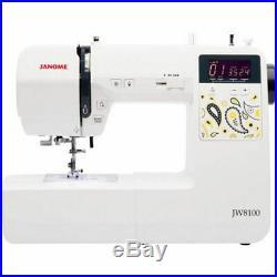 Janome JW8100 Computerized Sewing Machine New