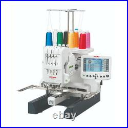 Janome MB-4S Commercial 4 Needle Embroidery Machine Refurbished