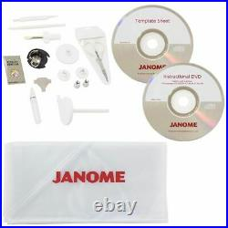 Janome Memory Craft 400e Embroidery Machine with 8x8 Field with Bonus New