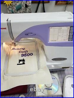 Janome Memory Craft 9500 Computerized Sewing Machine