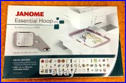 Janome RE18 Essential Embroidery Machine Hoop New