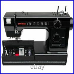 Janome Sewing Machine Model Heavy Duty HD1000-BE Black Edition New
