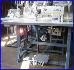 Juki 1541S Complete Package Table, Servo Motor, Lamp, Belt, Thread Stand, Set up