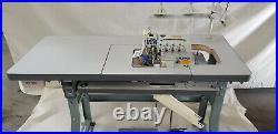 Juki 4-Thread Overlock Sewing Machine withTable & Servo Motor (MO-6814S) COMPLETE
