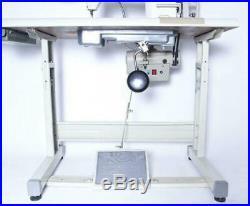 Juki DDL-8700 Lockstitch Sewing Machine with Servo Motor, Stand, Lamp DIY DDL8700