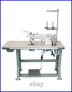 Juki DU-1181N Industrial Top & Bottom Feed waking foot machine complete set 110v
