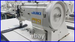 Juki LU-1508N Leather & Upholstery Walking Foot Sewing Machine w Motor and Table